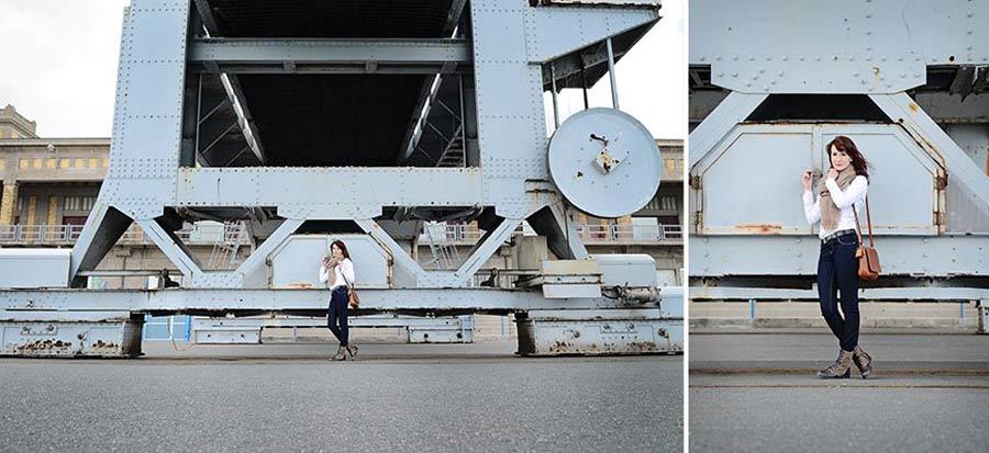 Photo lifestyle à Cherbourg en normandie à la cité de la mer .