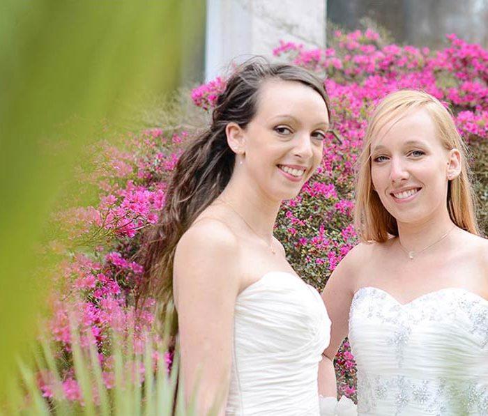 Pauline & Joséphine en mariées - Photographe de mariage - Cherbourg