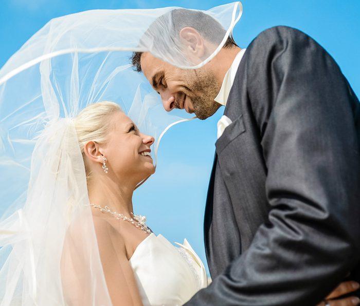 Séance photo après mariage - Normandie - Vierville sur mer