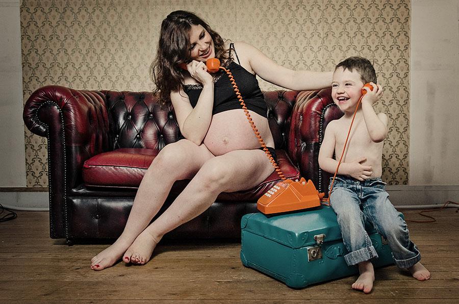 Séance photo grossesse Emilie à Valognes dans le Manche en Normandie