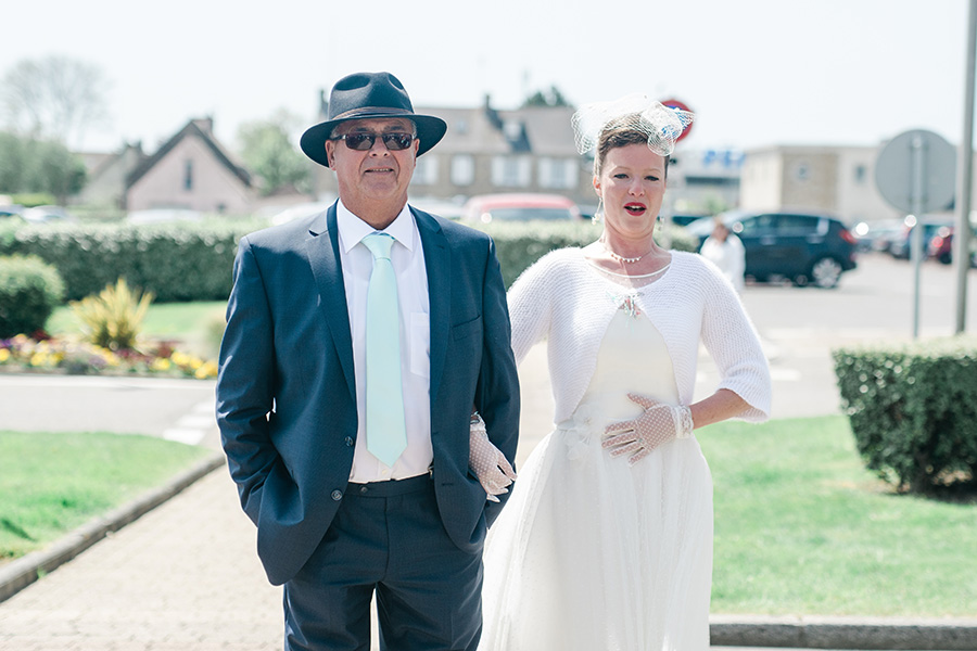 Photographe de mariage à les pieux dans la manche en Normandie