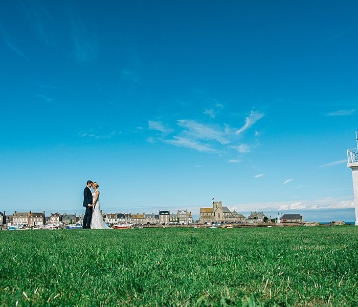 Mariage à Barfleur en Normandie