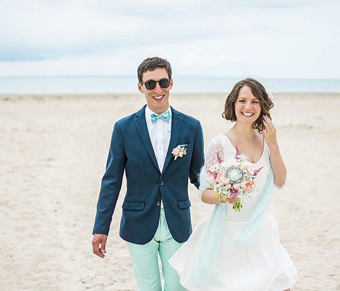 Mariage chic et bohème au château de Surville